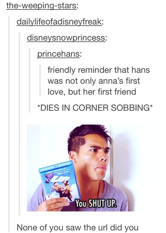 Hans and Anna from Disney's Frozen. Not okay.