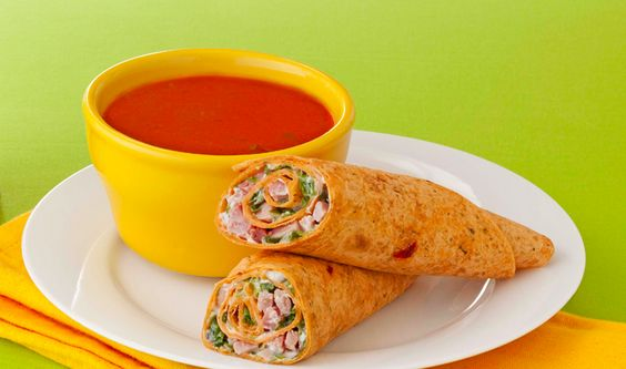 In a rush? Try these Speedy Turkey Wraps for #dinner or #lunch. #MealSolutions