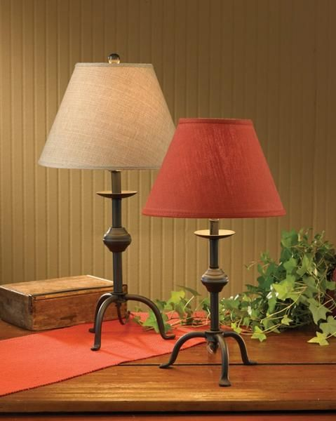 Three Leg Lamp Base Lamp Primitive Table Lamp Leg Lamp