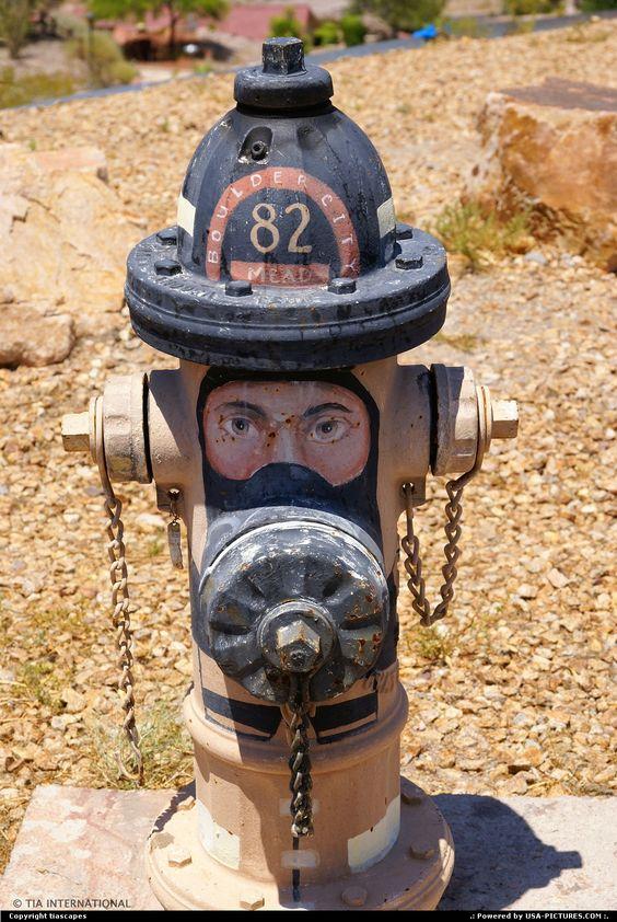 Fireman Hydrant