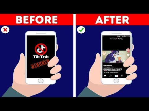 How To Unblock Tiktok App 2020 How To Unban Tiktik App Tiktok Unblock 2020 Unblock All Apps Youtube App Tiktik Youtube