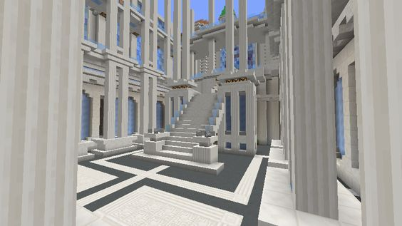 Minecraft World of Raar: -CONSTRUCTION UPDATE- Opera House Minecraft building ideas and structures