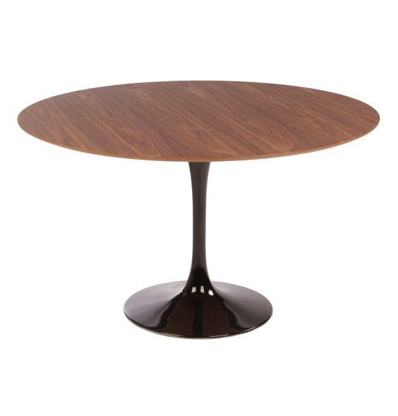 Replica Eero Saarinen Tulip Dining Table Round Timber by Eero