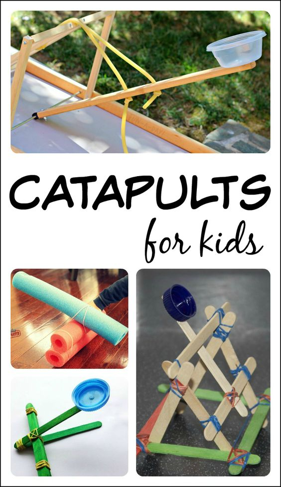 catapult science fair project A whole bunch of easy science project ideas that you can make here's a fun project that fuses science with diorama's this type of catapult uses twisted string or rope as a source of power and it is more accurate to the real catapults of medieval times.