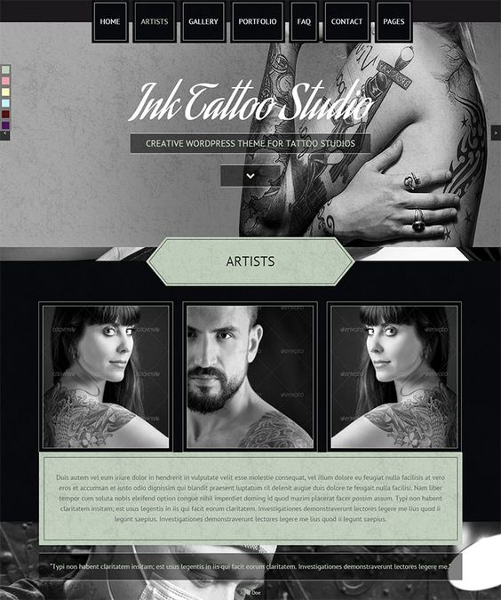 20 Stunning Black & White Portfolio WordPress Themes