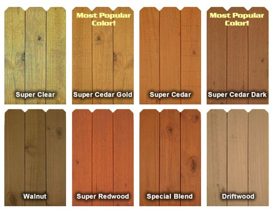 Timberseal Pro Uv Color Chart Garden Structures Pinterest Stains Stain Colors And Dark Walnut