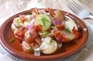 Pennsylvania Dutch Warm Potato Salad Recipe on Food52 recipe on Food52