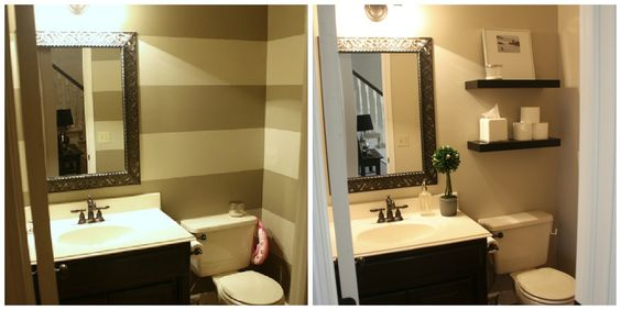 Image Gallery For Website Crazy Wonderful quick powder room makeover