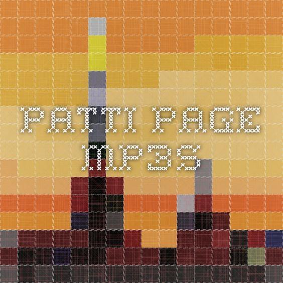 patti page mp3s