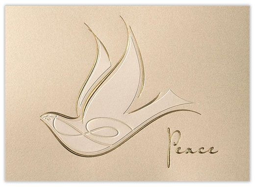 Bringing Peace - Doves from CardsDirect: