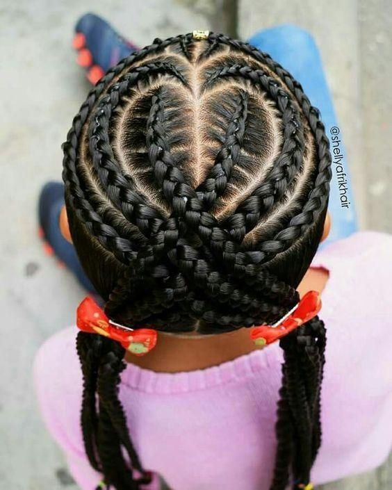 Top 20 Best Black Braids Hairstyles For Kids, Lovely