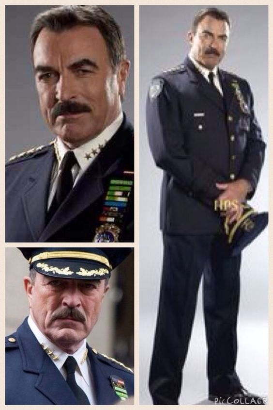 Tom Selleck as Police Commissioner Frank Reagan on Blue Bloods