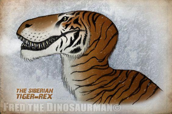 The Siberian T-Rex by FredtheDinosaurman on DeviantArt