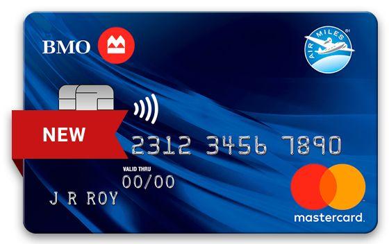 Bmo Air Miles Mastercard Bank Of Montreal Mastercard Credit Card Credit Card Online