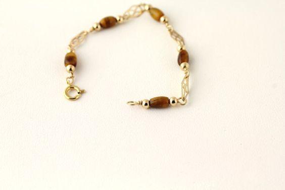Tiger's Eye Bracelet Listing 117972166 by Ptcreationsjewelry, $8.00