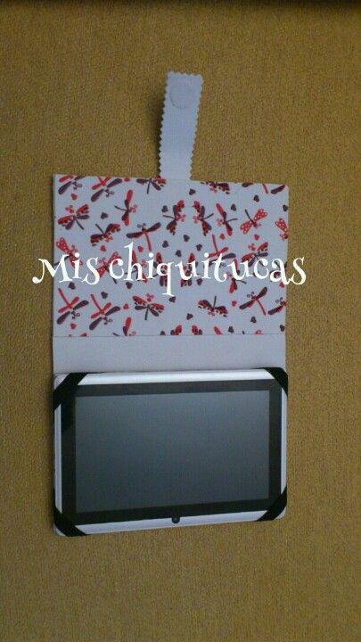 Funda tableta con goma eva mis creaciones pinterest - Fundas de goma eva ...
