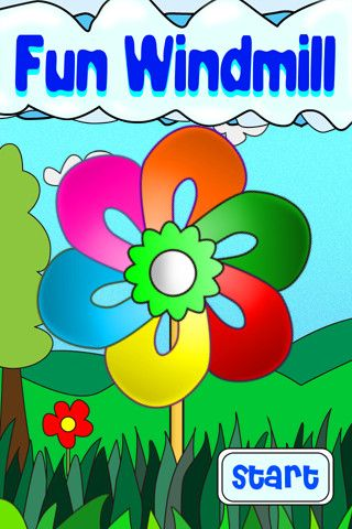 """Fun Windmill ($0.00) """"Fun Windmill"""" brings you virtual windmills. Not only can you blow into the microphone to rotate the windmill and make funny noise, you also can enjoy different kinds of music and make background or other items move by holding your device differently. Simply Fun! Enjoy!    [KEY FEATURES]  - Blow into the mic to make the windmill spin  - Tint your device and enjoy 3D-like effect.  - 6 beautiful windmills  - 6 different backgrounds  - 3 happy themes and 12 funny noises."""