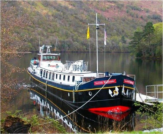 Scottish HighlaAdd a European Waterways Luxury Hotel Barge Cruise to a Sports Vacationnder