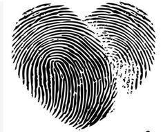 thumbprint tattoo heart - Google Search