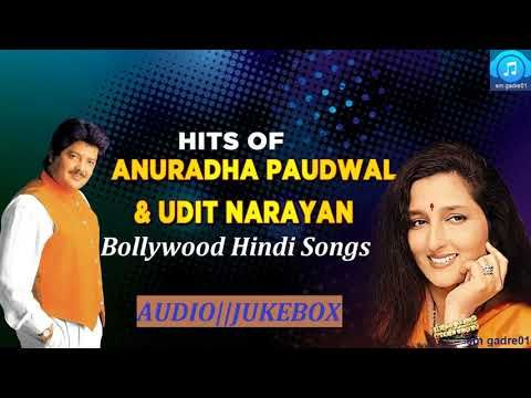Best Of Udit Narayan Anuradha Paudwal Bollywood Hindi Jukebox Songs Youtube Romantic Songs Udit Narayan Songs