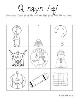 Number Names Worksheets : letter q activities for kindergarten ...