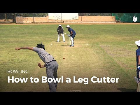 How To Bowl A Leg Cutter Cricket Youtube Cricket Coaching Cricket Sport Cricket