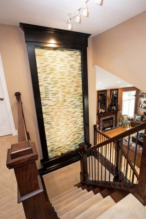 Indoor Waterfall Wall Fountains And Detroit On Pinterest