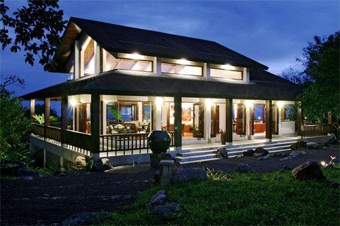 2nd floor tropical and design on pinterest for Wrap around verandah