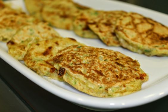 The healthy way blog: Pataniscas de courgette