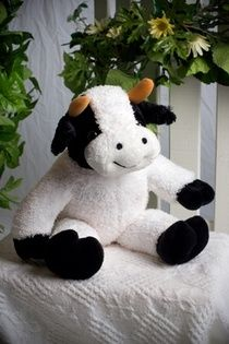 The Daisy Cow Kit includes:  The animal skin  Stuffing  A Wish Star Adoption certificate  Full instructions