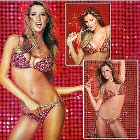 WEBSTA @ gisele.bundchen - ⭐Em 2000, a rainha @Gisele foi escolhida para usar o Red Hot Fantasy! Esse foi o FB mais caro já feito pela Victoria's Secret (@victoriassecret) e entrou para o livro dos Recordes como a lingerie mais cara do mundo no valor de 15 milhões de dólares! Wowwww, só ela mesmo a Über Gisele para usar uma peça tão valiosa assim! ❤🔝👏