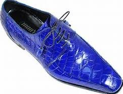 Cheap Royal Blue Dress Shoes For Mens
