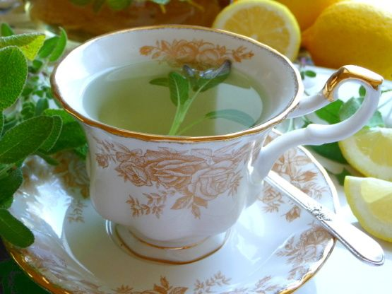 Pineapple Sage Tea Hot Or Iced Recipe Food Com Recipe Herbal Teas Recipes Pineapple Sage Sage Tea