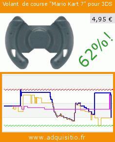 """Volant  de course """"Mario Kart 7"""" pour 3DS (Accessoire). Réduction de 61.89376443418%! Prix actuel 4,95 €, l'ancien prix était de 12,99 €. https://www.adquisitio.fr/nintendo/volant-course-mario-kart"""