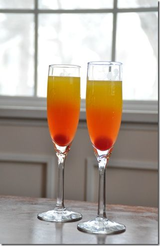 sparkling cocktail...yummmmmm!