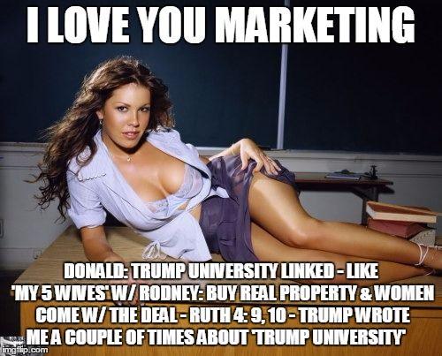 2b6a2ea386b0a50b26aee43c77334576 university memes trump university attn court appointed attorney public defender meme generator,Overly Attached Girlfriend Meme Generator