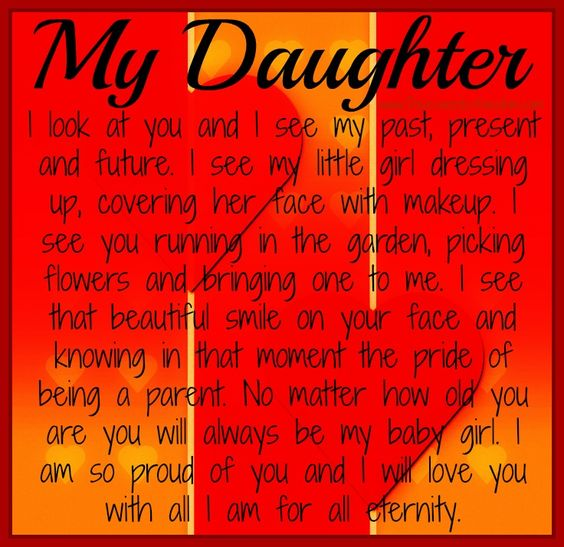 Encouraging Words For My Daughter | My Daughter ~ If you ...