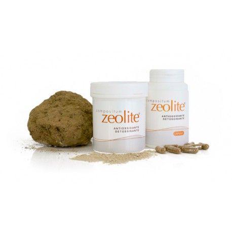 Zeolite Compositum in polvere 150 gr Zeolite: la roccia intelligente La ZEOLITE ad uso orale è destinata a rimuovere , con meccanismo di tipo fisico, sostanze dannose e tossiche nel tratto intestinale, contrastandone l'assorbimento nel corpo. Risulta efficace anche nelle situazione di stress ossidativo.