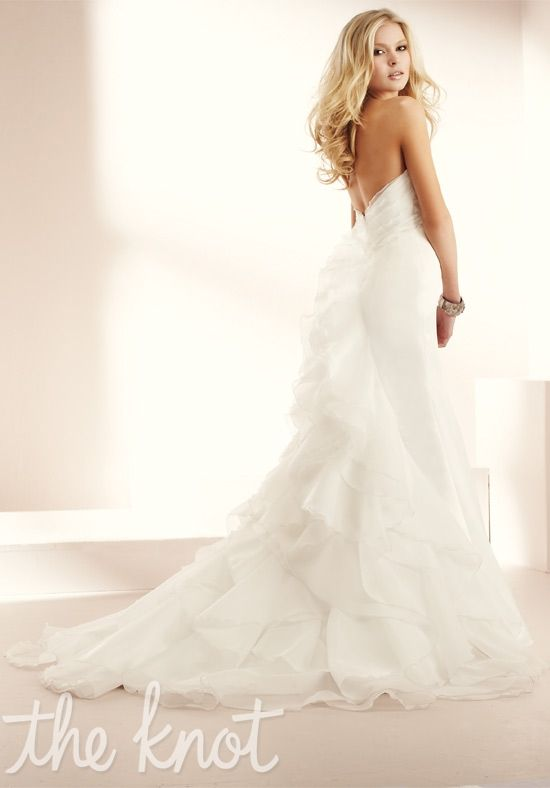 Check out this #weddingdress: 1508 by Mikaella via iPhone #TheKnotLB from #TheKnot