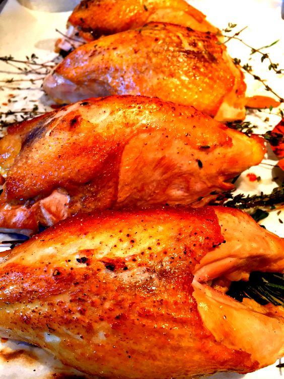 Roasted Guinea Hen