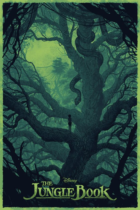 The Jungle Book by Daniel Danger - Home of the Alternative Movie Poster -AMP-