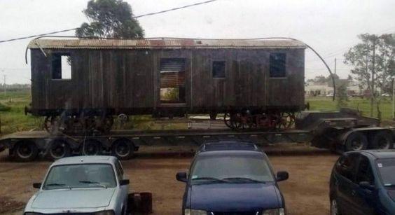 ferrocarriles del sud: VIEJOS VAGONES DE VIEDMA CON DESTINO A UN MUSEO DE...