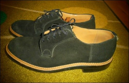 1950's Men's Blue Suede Shoes! (Item number: 100613, End Time : 01 Aug. 2013 00:22:51) - apeZoot, the market place where Vintage is CULTure!