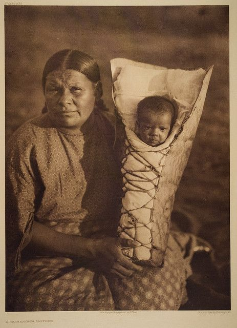 A Comanche Mother by George Eastman House, via Flickr