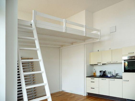 bild 12 hochbett hochetage mit treppe einrichtung pinterest. Black Bedroom Furniture Sets. Home Design Ideas