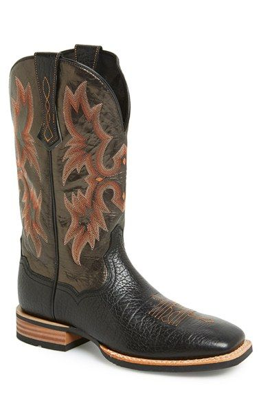 Men&39s Ariat &39Tombstone ATS&39 Leather Cowboy Boot | Leather Cowboys