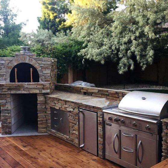 Top 60 Best Outdoor Kitchen Ideas Chef Inspired Backyard Designs In 2020 Design Für Aussenküche Kochen Im Freien Outdoor Küche