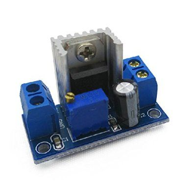 HiLetgo LM317 Adjustable Voltage Regulator DC-DC Buck Adjustable Linear Regulator