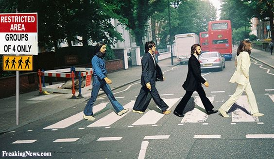 Abbey Road Crossing Sign