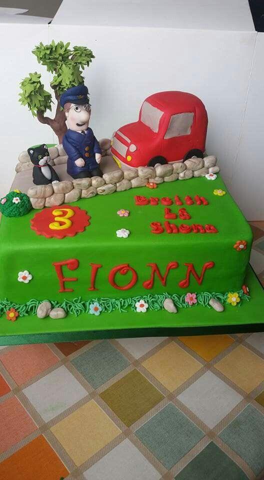 Postman Pat Cake Ideas